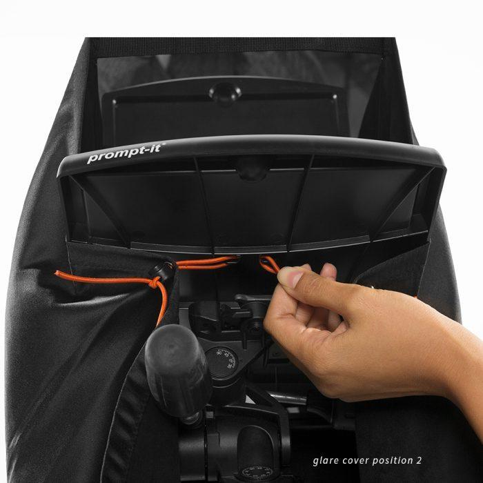prompt-it® maxi Glare Cover Position 2