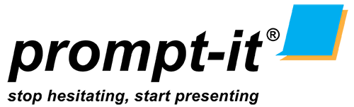 Prompt-it Teleprompters Logo