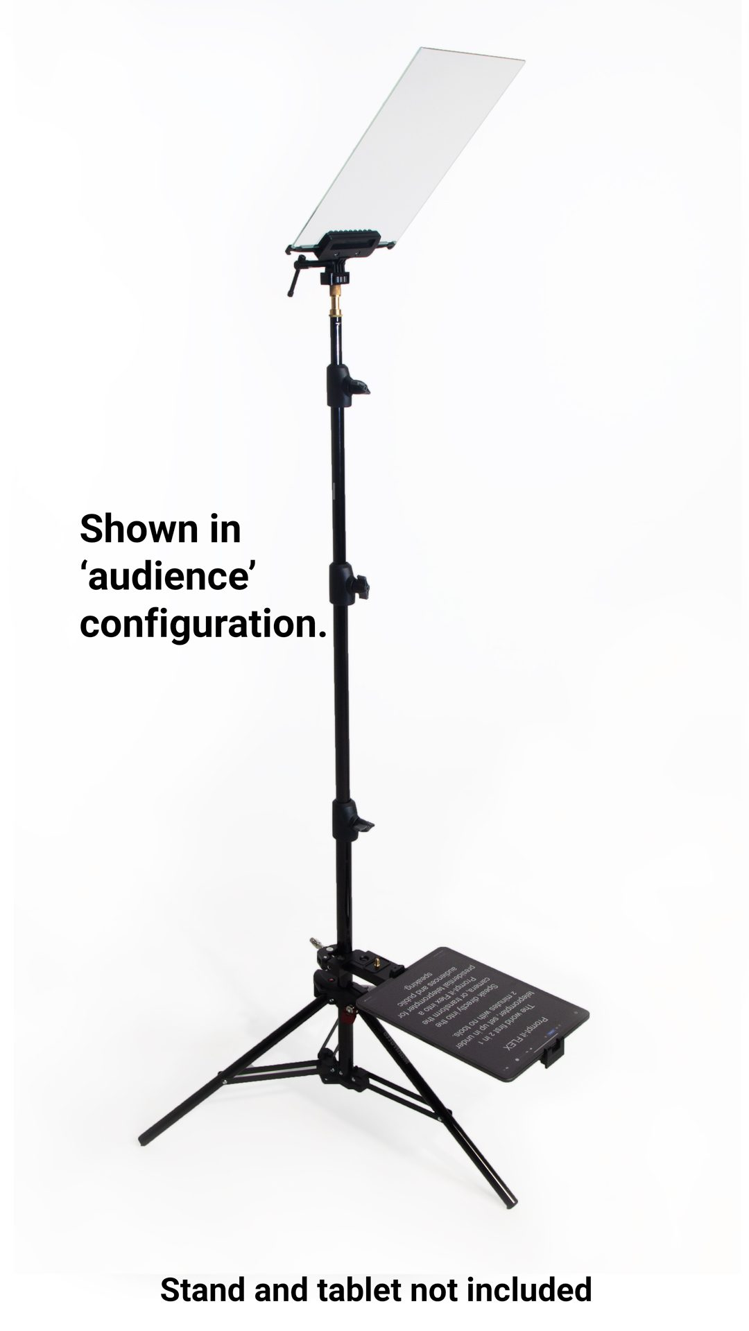 Flex Teleprompter in Audience configuration