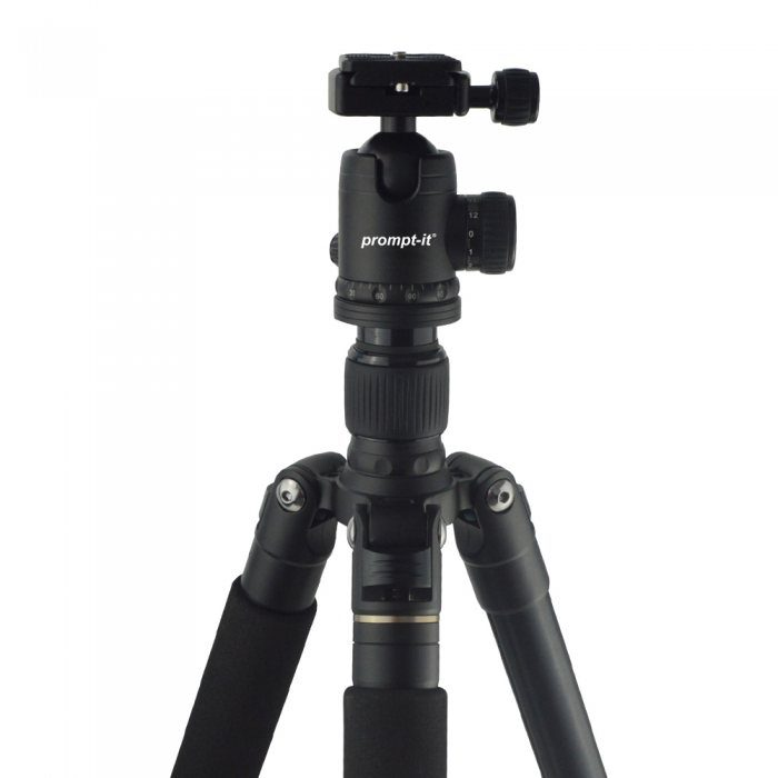 Teleprompter tripod stand duo kit ball head
