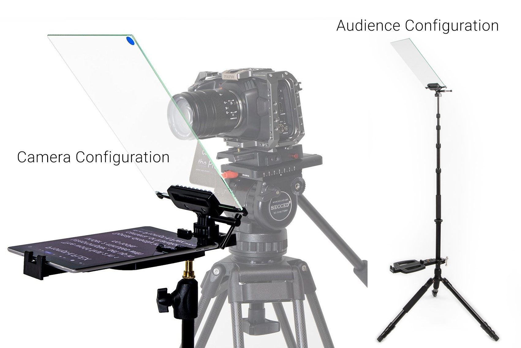Prompt-it® Flex - the first 2-in-1 teleprompter in the world